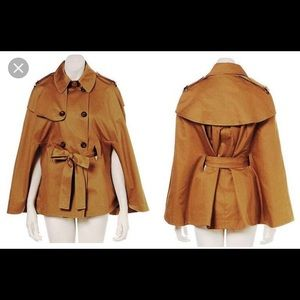 Topshop trench cape